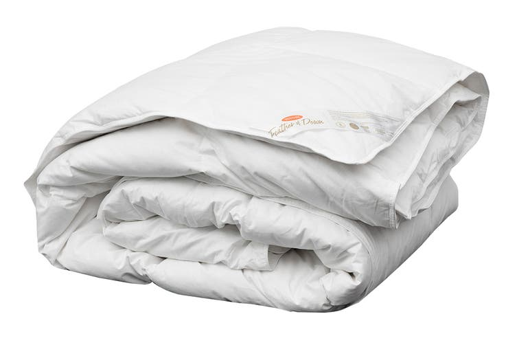 Tontine All Seasons 15/85 Duck Feather & Down Quilt (Queen)