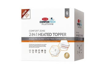 Tontine Comfortech Microplush Heated Mattress Topper - King