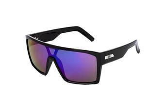 UNIT Men's Command Sunglasses (Black- Revoblue)