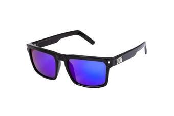 UNIT Men's Primer Sunglasses (Black- Revoblue)