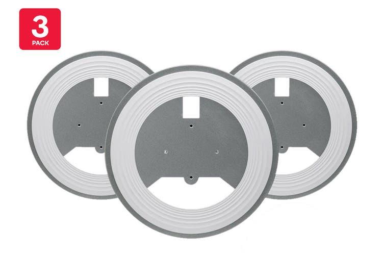 Ubiquiti UAP-NanoHD Recessed Ceiling Mount, 3-Pack (NANOHD-RCM-3)