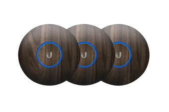 Ubiquiti UniFi NanoHD Hard Cover Skin Casing - Wood Design, 3-Pack
