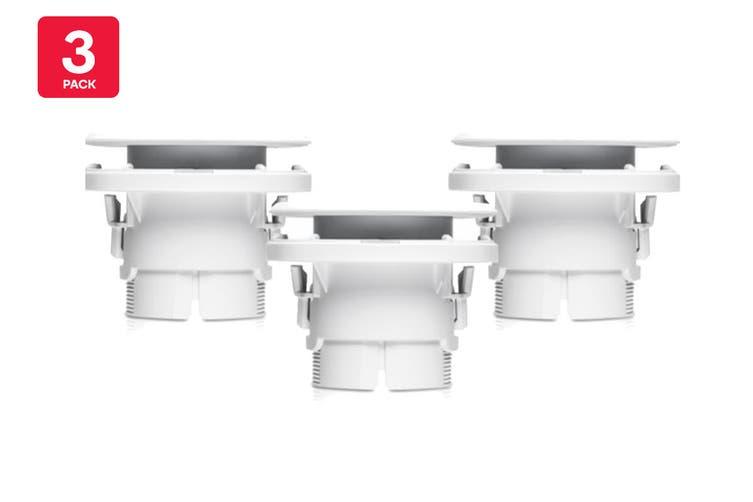 Ubiquiti Camera Ceiling Mount Accessory, 3-Pack (UVC-G3-F-C-3)