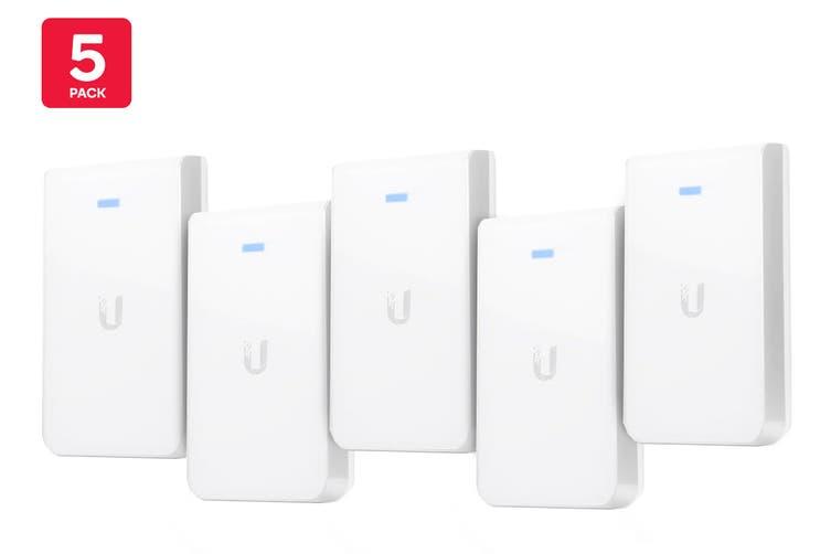 5-Pack Ubiquiti UniFi 802.11AC In Wall Access Point  (UAP-AC-IW-5)