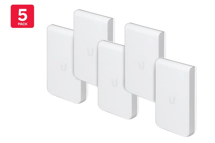 5-Pack Ubiquiti UniFi 802.11AC In Wall PRO Access Point  (UAP-AC-IW-PRO-5)