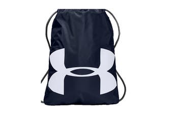 Under Armour Unisex Ozsee Sackpack (Midnight Navy/Graphite/White)