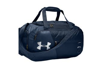 Under Armour Unisex Undeniable 4.0 Duffle Small (Academy/Academy/Silver)