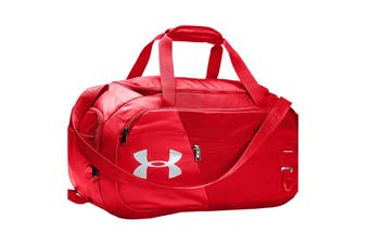 Under Armour Unisex Undeniable 4.0 Duffle Small (Red/Red/Silver)