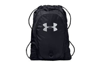 Under Armour Unisex Undeniable 2.0 Sackpack (Black/Black/Silver)
