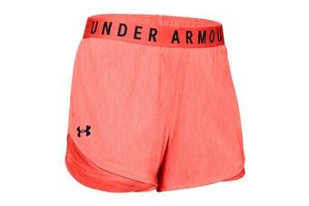 Under Armour Women's Play Up Twist Shorts 3.0 (Beta Red/Beta/Black)