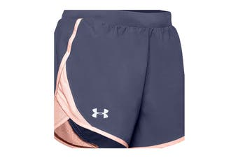 Under Armour Women's Fly By 2.0 Short (Blue Ink)