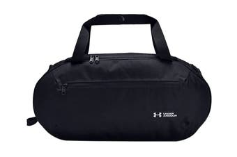 Under Armour Unisex Roland Duffle Small (Black/Black/White)