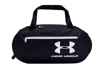 Under Armour Unisex Roland Duffle Small (Graphite/Black/White)
