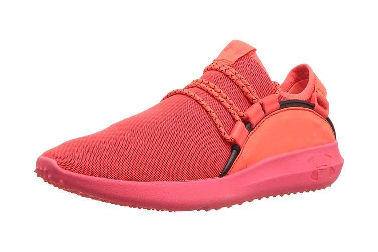 Under Armour Women's RailFit 1 Running Shoe (Neon Coral/Black, Size 6.5)