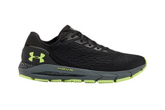 Under Armour Men's Hover Sonic 3 Running Shoe (Black/Pitch Gray/X-Ray)