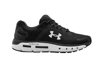 Under Armour Men's Hover Infinite 2 Running Shoe (Black/White/White)