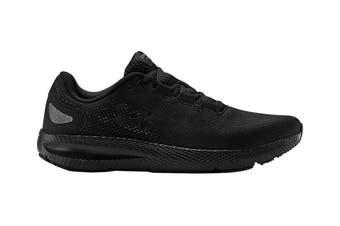 Under Armour Men's Charged Pursuit 2 Running Shoe (Black/Black/Black)