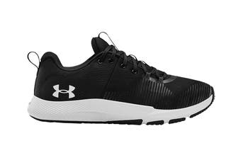 Under Armour Men's Charged Engage Running Shoe (Black/Black/White)