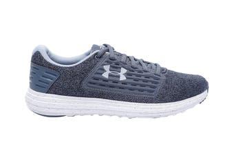 Under Armour Women's Surge SE Twist Running Shoe (Downpour Gray/White)