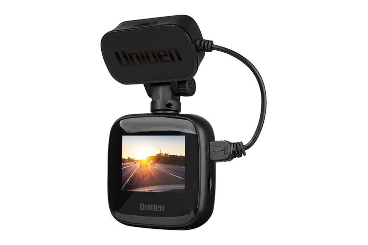 "Uniden Full HD Smart Dash Cam with 2"" LCD Colour Screen and GPS Geotagging (IGCOAM40)"