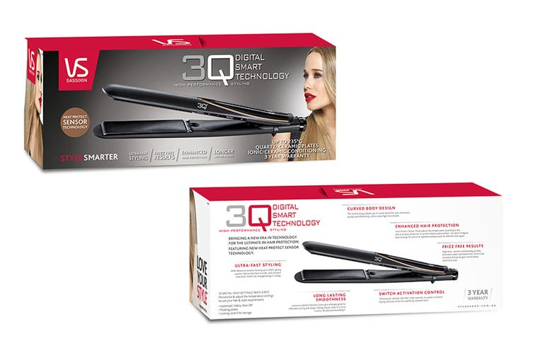 VS Sassoon 3Q Digital Straightener (VSP2561A)