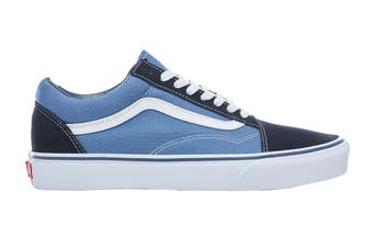 Vans Unisex Old Skool Shoe (Navy Blue, Size 4.5 US)