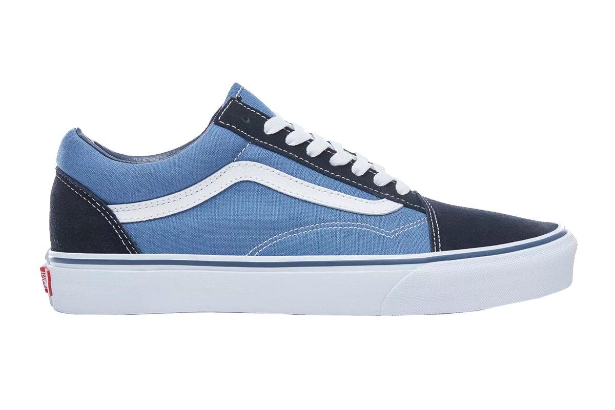 Vans Unisex Old Skool Shoe (Navy Blue