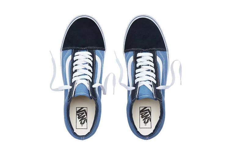 Vans Unisex Old Skool Shoe (Navy Blue, Size 5.5 US)