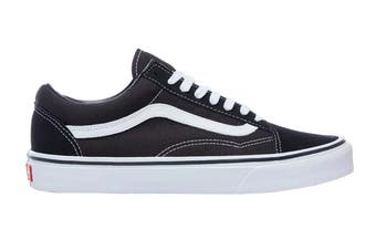 Vans Unisex Old Skool Shoe (Black/White, Size 8.5 US)