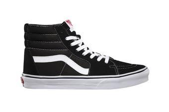 Vans Unisex Sk8-Hi Black Shoe (Black)