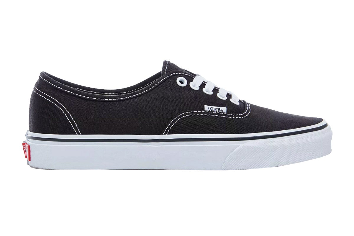 Vans Unisex Authentic Black Shoe (Black