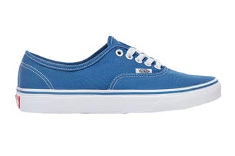 Vans Unisex Authentic Navy Blue Shoe (Navy Blue, Size 4.5 US)