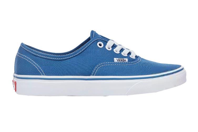 Vans Unisex Authentic Navy Blue Shoe (Navy Blue, Size 5.5 US)