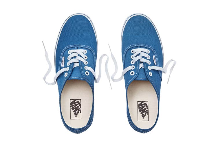 Vans Unisex Authentic Navy Blue Shoe (Navy Blue, Size 6 US)