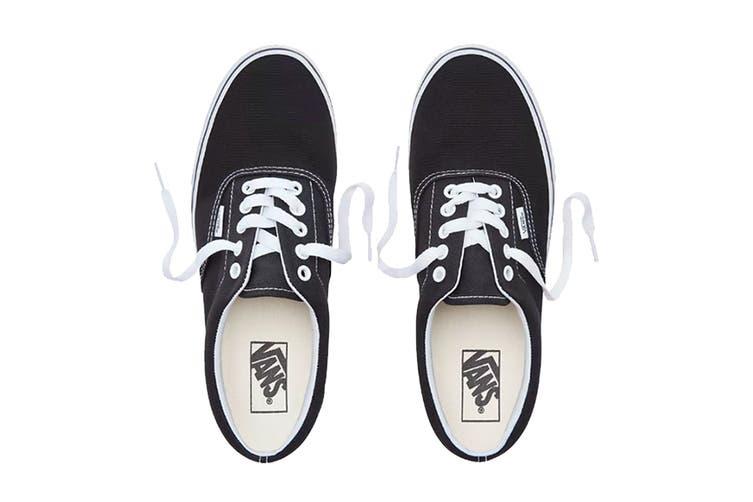 Vans Unisex Era Black Norm Shoe (Black, Size 4 US)