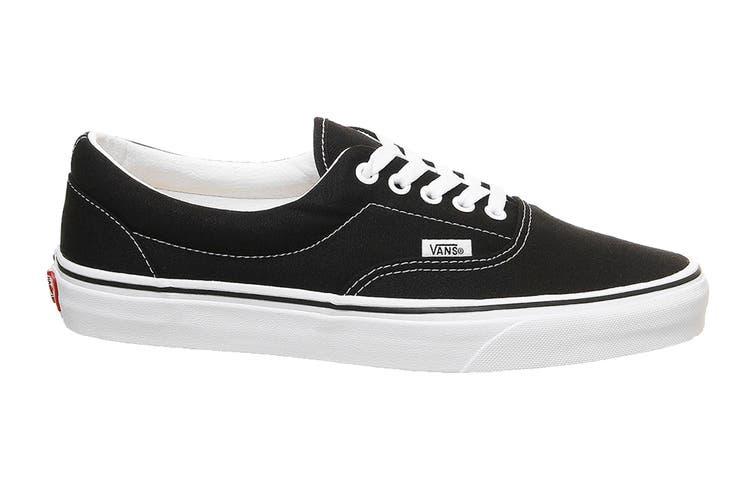 Vans Unisex Era Black Norm Shoe (Black, Size 8.5 US)