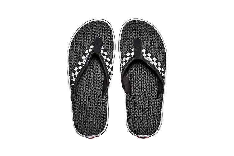 Vans Men's La Costa Lite Sandal (Black/White, Size 8 US)