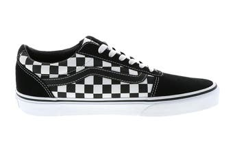 Vans Men's Ward Checkered Shoe (Black/True White, Size 9 US)