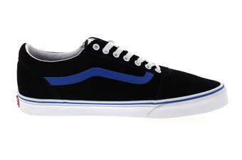 Vans Men's Ward Retro Sport Shoe (Black/Princess Blue)