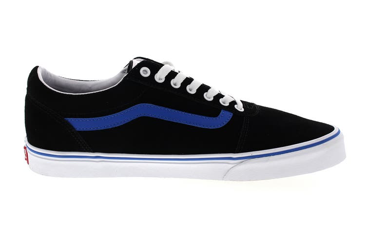 Vans Men's Ward Retro Sport Shoe (Black/Princess Blue, Size 7.5 US)