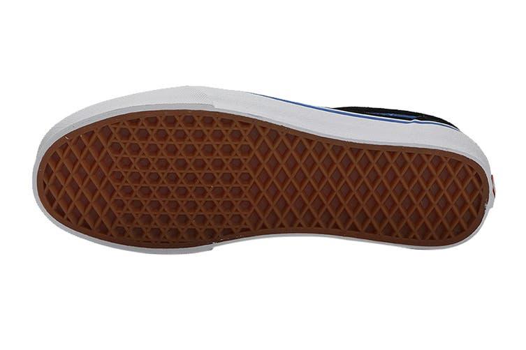 Vans Men's Ward Retro Sport Shoe (Black/Princess Blue, Size 8 US)