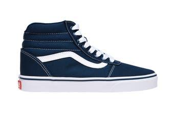 Vans Men's Ward Hi Shoe (Dress Blues/White, Size 9 US)