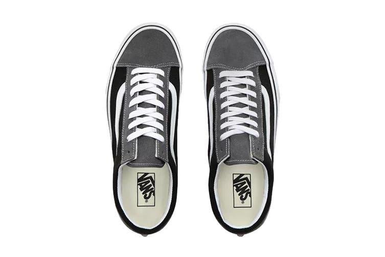 Vans Unisex Style 36 Vintage Suede Shoe (Pewter/Black, Size 10.5 US)