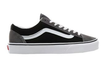 Vans Unisex Style 36 Vintage Suede Shoe (Pewter/Black, Size 10 US)