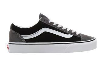 Vans Unisex Style 36 Vintage Suede Shoe (Pewter/Black, Size 11 US)