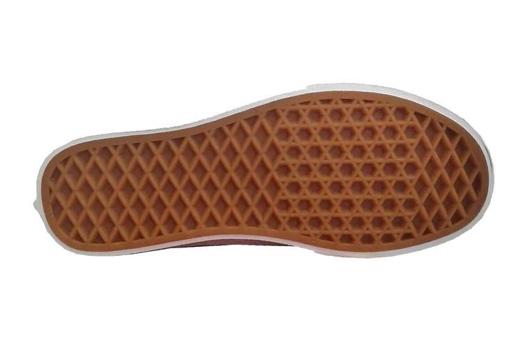 Vans Women's Ward Lurex Glitter Shoe (Silver, Size 8.5 US)