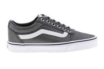 Vans Women's Ward Lurex Glitter Shoe (Black, Size 7 US)