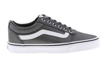 Vans Women's Ward Lurex Glitter Shoe (Black, Size 8 US)
