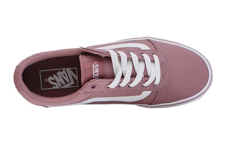 Vans Women's Ward Canvas Shoe (Nostalgia Rose, Size 5.5 US)