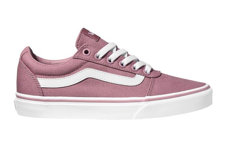 Vans Women's Ward Canvas Shoe (Nostalgia Rose, Size 6.5 US)